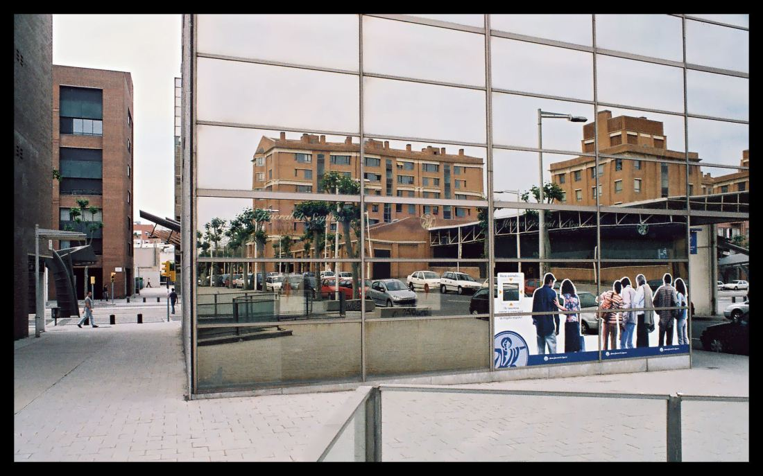 Reflection In Barcelona